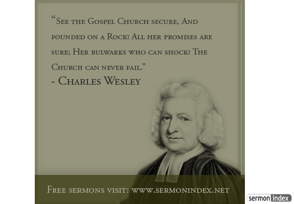 Charles Wesley's quote