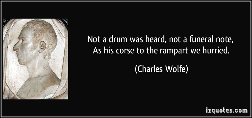 Charles Wolfe's quote
