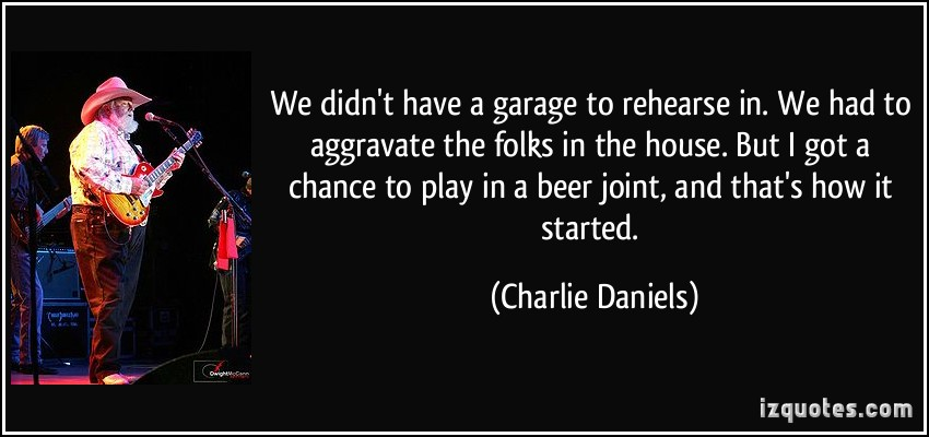 """Charlie Daniels Quote: """"Well, I just can't play the game ... 