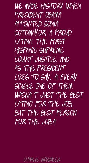 Charlie Gonzalez's quote #3