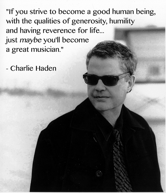 Charlie Haden's quote #7