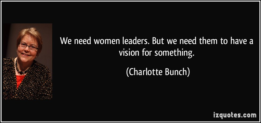 Charlotte Bunch's quote #1