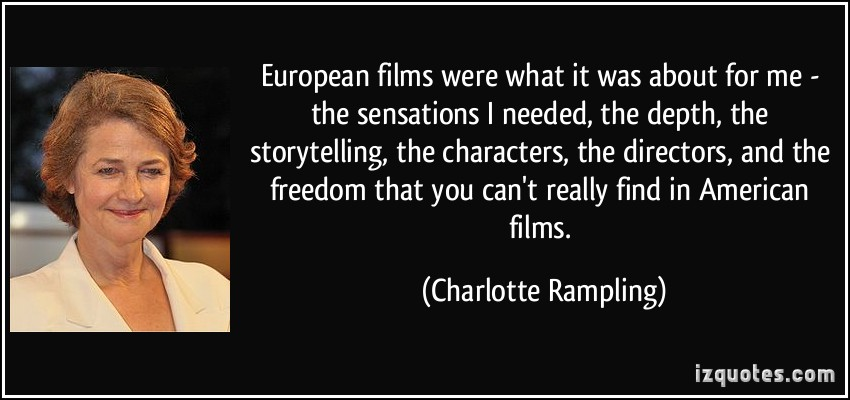 Charlotte Rampling's quote #7