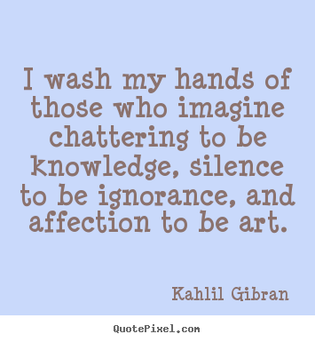 Chattering quote #1
