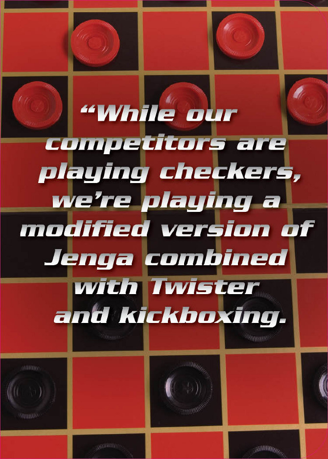 Checkers quote #1
