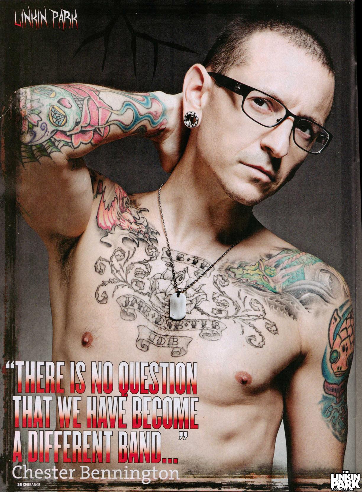 Chester Bennington's quote #1