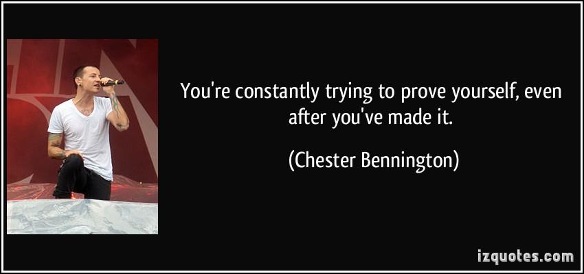 Chester Bennington's quote #7