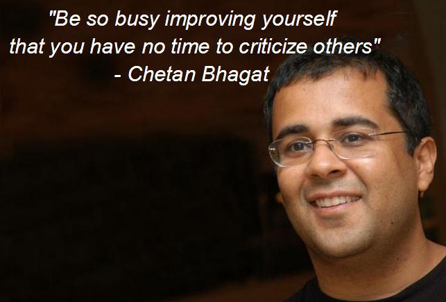 Chetan Bhagat's quote #1