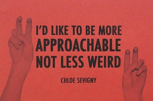 Chloe Sevigny's quote