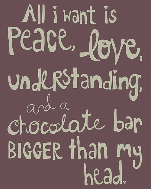 Chocolate quote #2