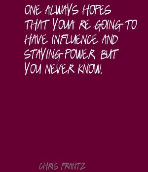 Chris Frantz's quote #6