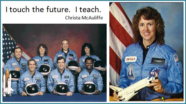 Christa McAuliffe's quote #7