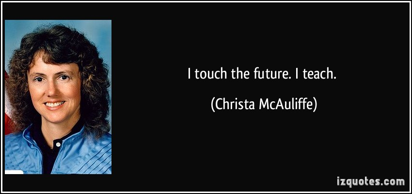 Christa McAuliffe's quote #4