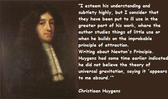 Christiaan Huygens's quote #4