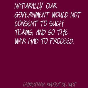Christiaan Rudolf de Wet's quote #6