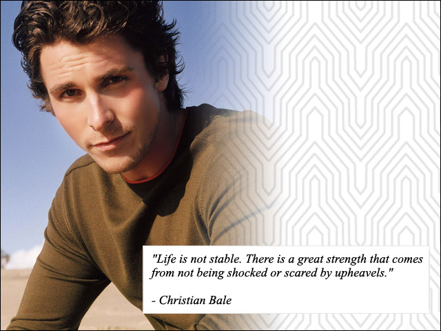 Christian Bale's quote #2