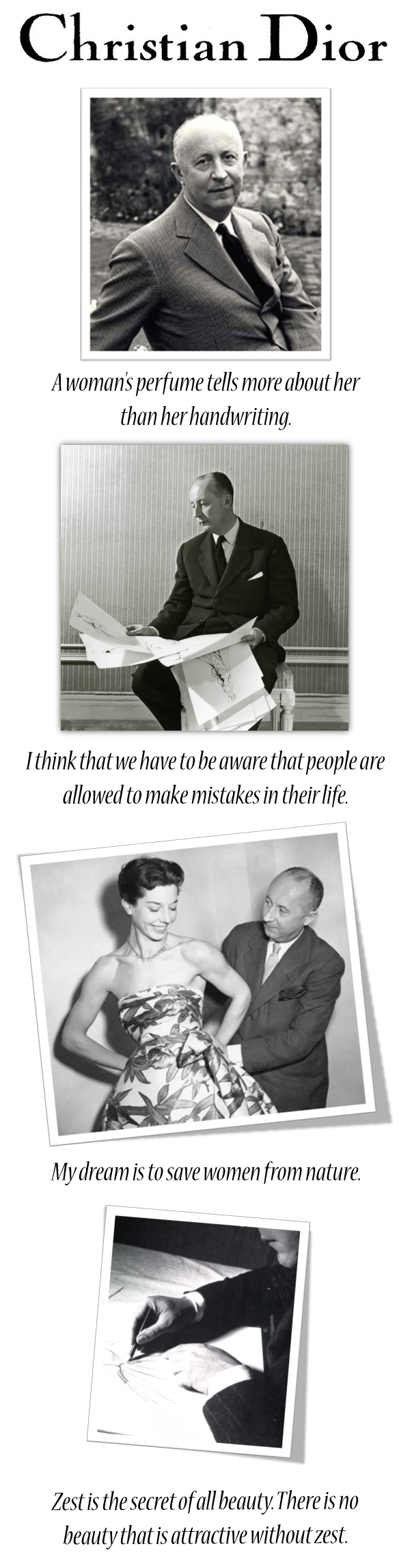 Christian Dior's quote #3