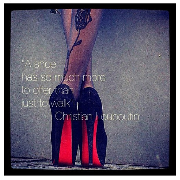 Christian Louboutin's quote #1