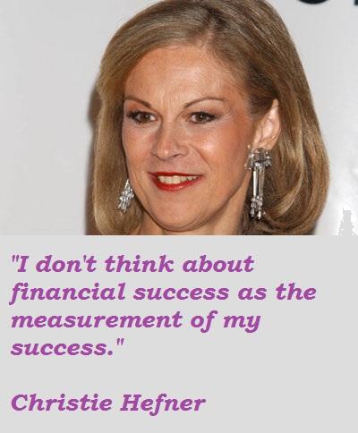 Christie Hefner's quote #3