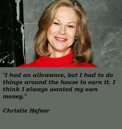 Christie Hefner's quote #5