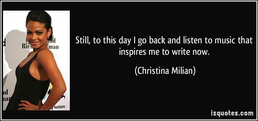 Christina Milian's quote #6
