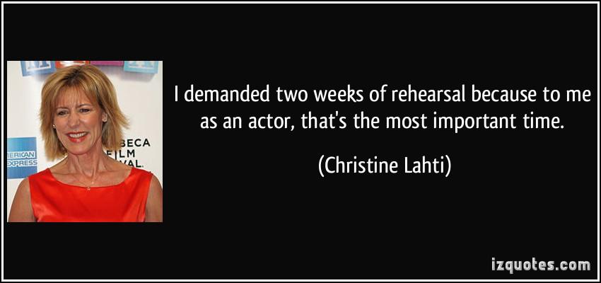 Christine Lahti's quote #3