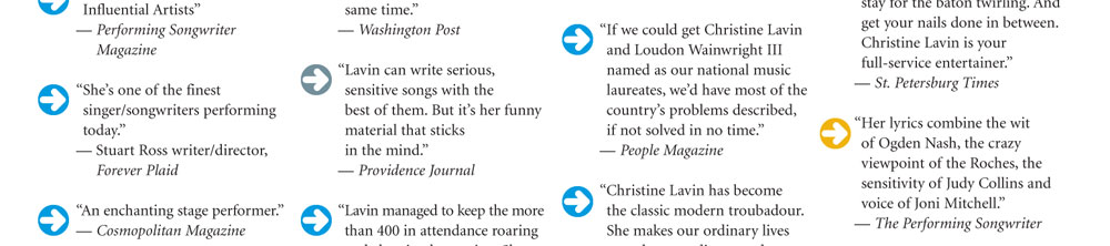 Christine Lavin's quote #4