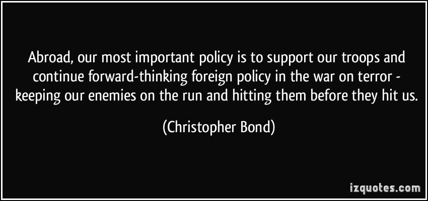 Christopher Bond's quote #4