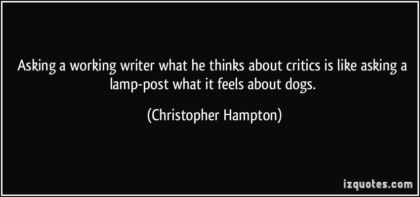 Christopher Hampton's quote #7