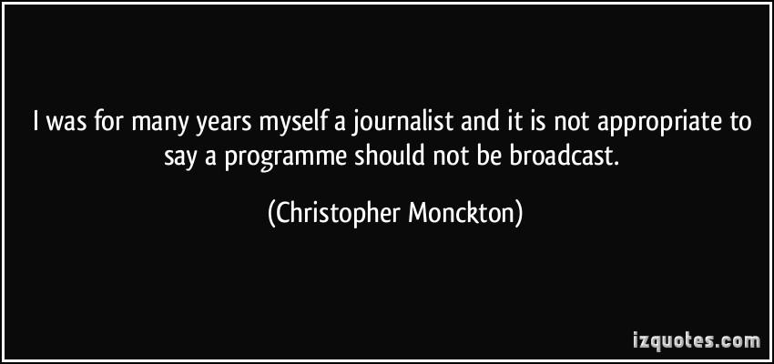 Christopher Monckton's quote #1