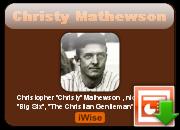 Christy Mathewson's quote #4