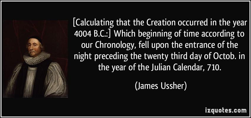 Chronology quote #2