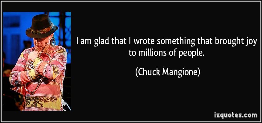 Chuck Mangione's quote #6