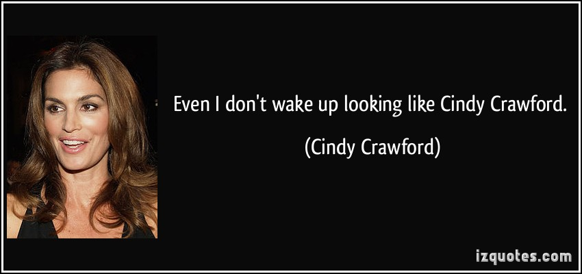 Cindy Crawford's quote #6