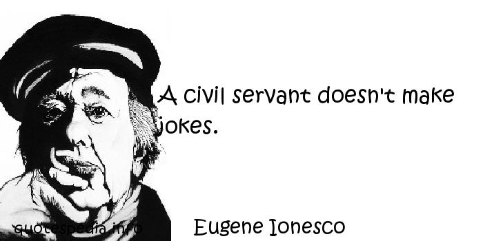 Civil Servants quote #2
