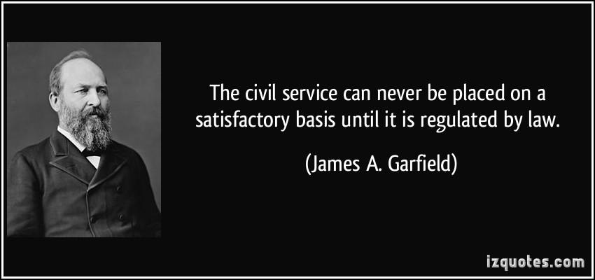 Civil Service quote #1
