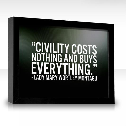 Civility quote #1