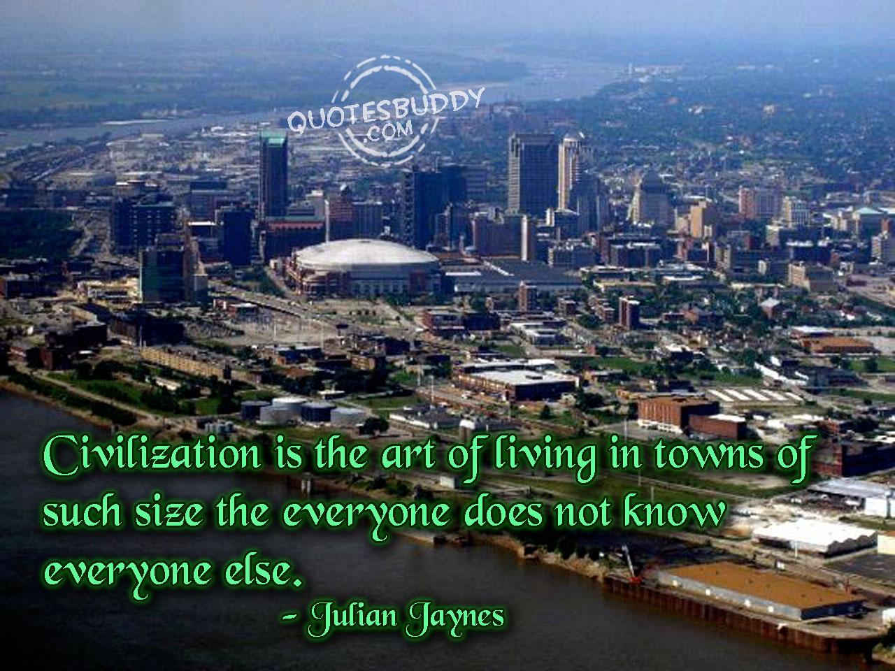 Civilization quote #1