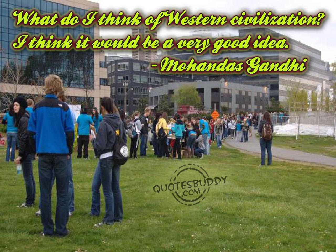 Civilization quote #2