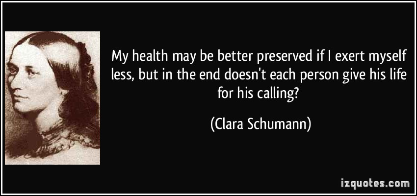 Clara Schumann's quote #1
