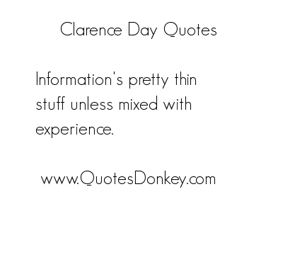 Clarence Day's quote #6