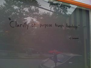 Clarity quote #4