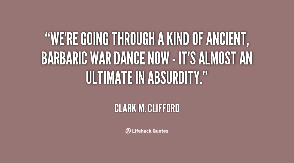 Clark M. Clifford's quote #2