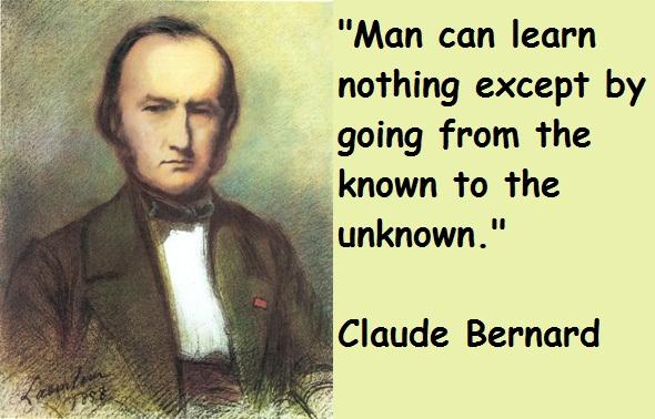 Claude Bernard's quote #2