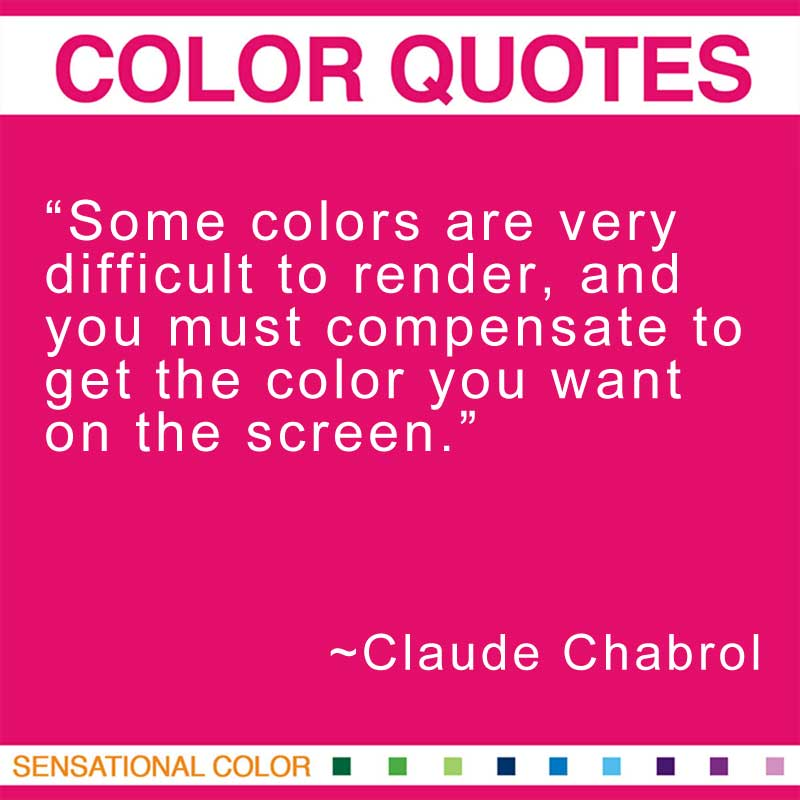 Claude Chabrol's quote #3