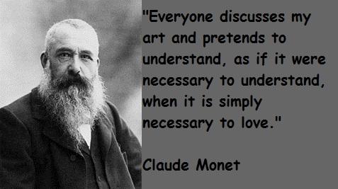 Claude Monet's quote #4