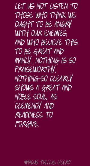 Clemency quote #1