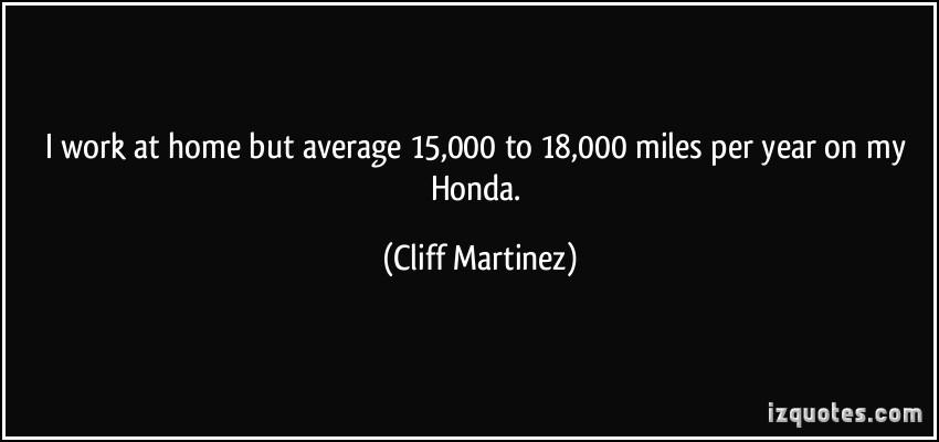 Cliff Martinez's quote #5