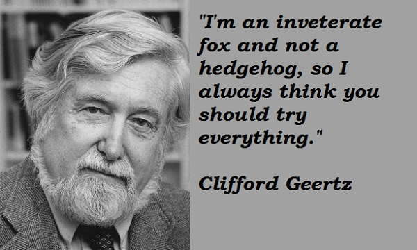 Clifford Geertz's quote #2