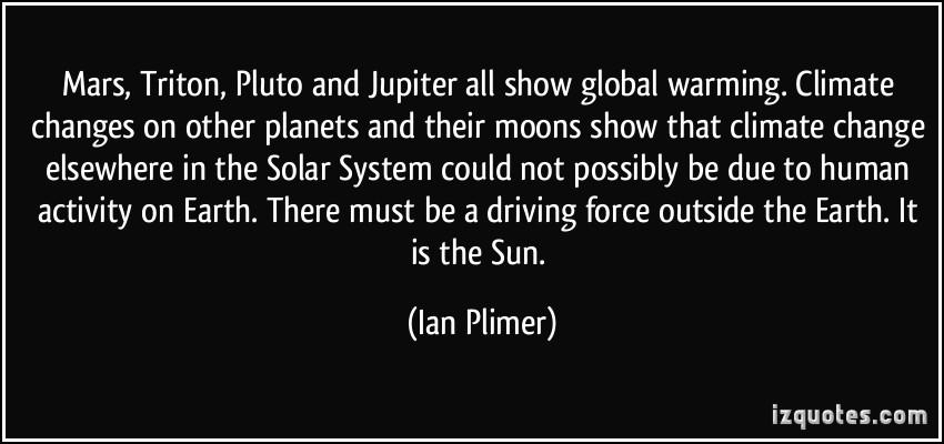Climate Change quote #1
